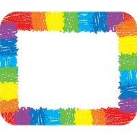 Rainbow Name Tags: Kid-Drawn (Other)