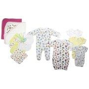 Bambini Newborn Baby Shower Layette Gift Set, 14pc (Baby Girls)