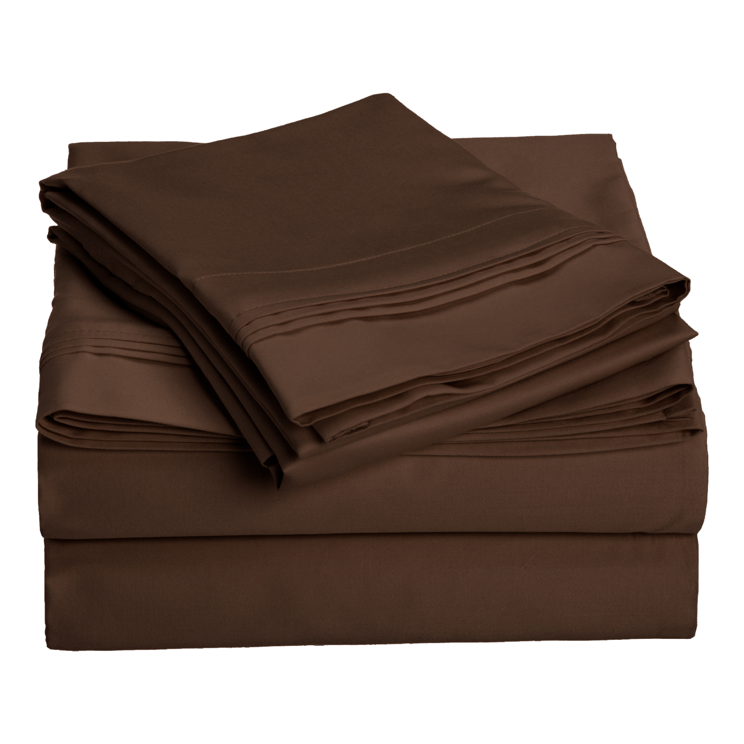 Superior 1500 Thread Count Single-Ply Egyptian Cotton Solid Sheet Set