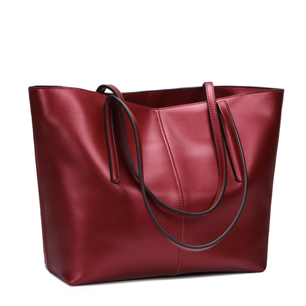 High Quality Women's Fashion Handbag Genuine Leather Shoulder Bags Tote Bags Satchel