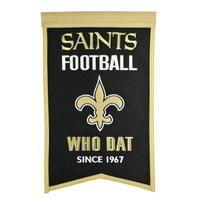 """New Orleans Saints 14"""" x 22"""" Team Franchise Banner - No Size"""