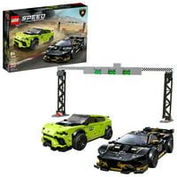 LEGO Speed Champions Lamborghini Urus ST-X & Huracn Super Trofeo EVO 76899 Building Kit