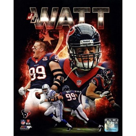 JJ Watt 2013 Portrait Plus Sports Photo - Jj Watts Halloween