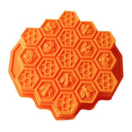 3D Honeycomb Shape Moulds Silicone Mold Cake Mousse For Ice Creams Chocolates Pastry Cake Decorating Tools - Shape Of A Honeycomb