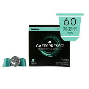 Cafespresso Massieno Intero Espresso, Nespresso Compatible Pods (Capsules), 60 Ct.