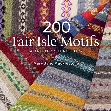 Mary Jane Knitting Pattern (200 Fair Isle Motifs : A Knitter's Directory)