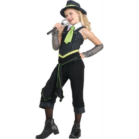 Costumes For All Occasions Ru882801Md Gangster Moll Child Medium](Gangster And Moll Costumes)