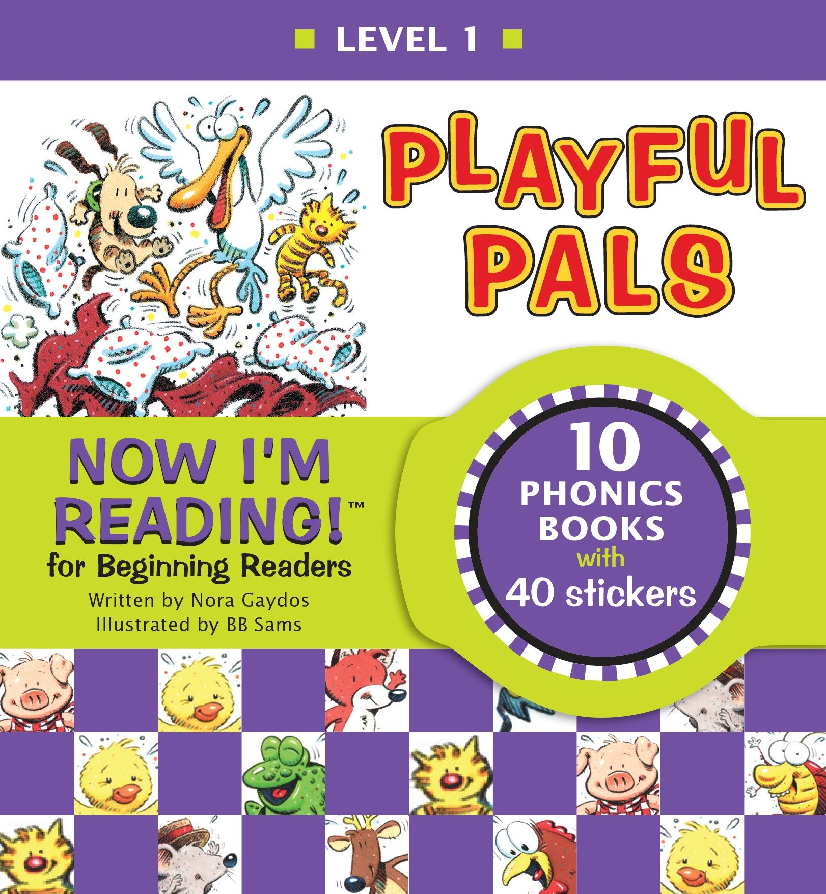 Now I'm Reading! Level 1: Playful Pals (Hardcover)