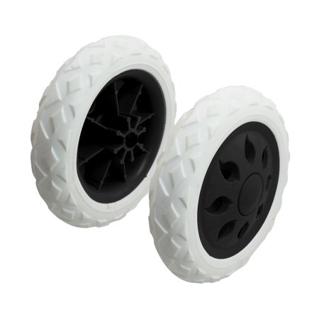 Plastic Bearing - 2 Pcs Replaceable Plastic Bearing Foam Tyre Shopping Cart Wheel Casters
