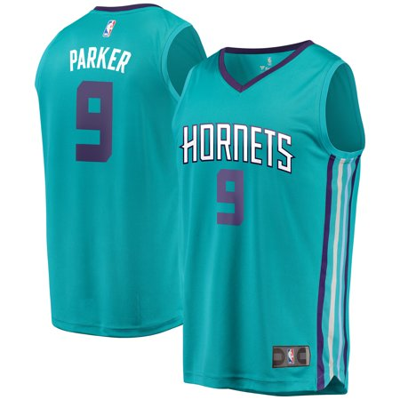 Charlotte Hornets Tony Parker Fanatics Branded Youth Fast Break Player Jersey - Icon Edition - Teal