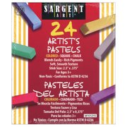 Sargent Art® Artist Square Pastels, 24/Pack
