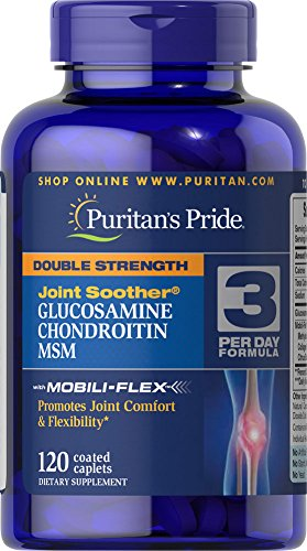Puritan's Pride Double Strength Glucosamine, Chondroitin ...