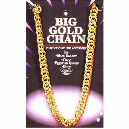 Gold Chain Adult Halloween Accessory