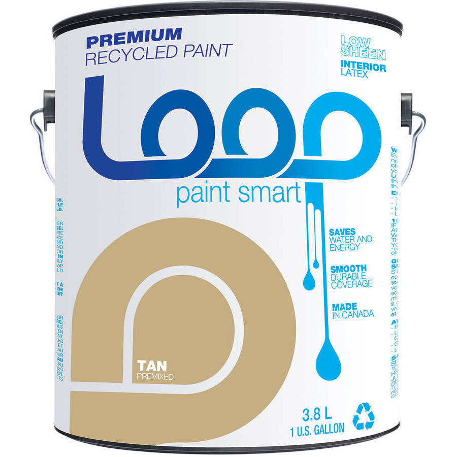 Loop Premium Recycled Paint, Tan by Loop Recycled Products Inc