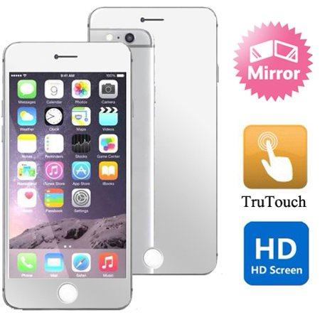 Screen Shield Mirror (Mirror Screen Protector HD Clear LCD Cover Film Display Touch Screen Shield 42 for iPhone 6 Plus 6S Plus)