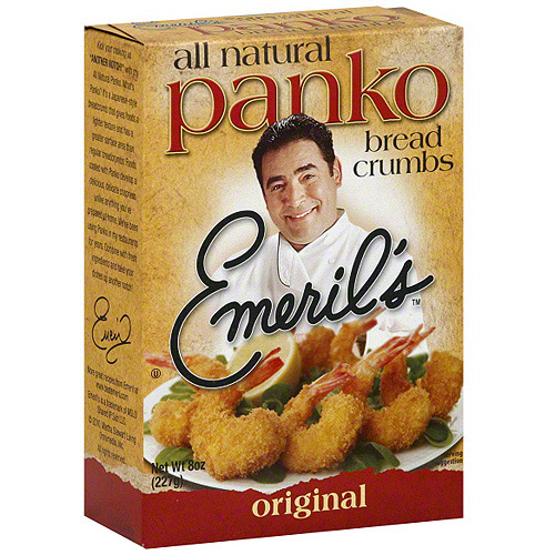 Emeril's Original Panko Bread Crumbs, 8 oz (Pack of 6)