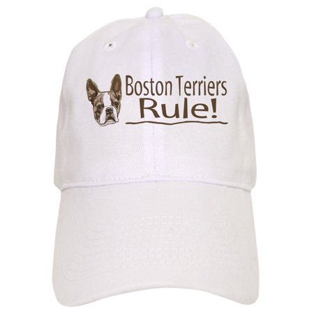CafePress - Boston Terriers Rule - Printed Adjustable Baseball Cap