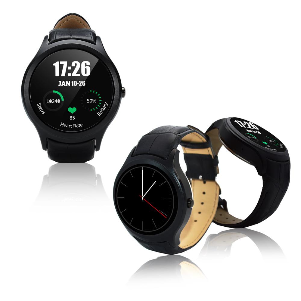 inDigi Deluxe A6 (Unlocked) SmartWatch & Phone - Bluetoot...