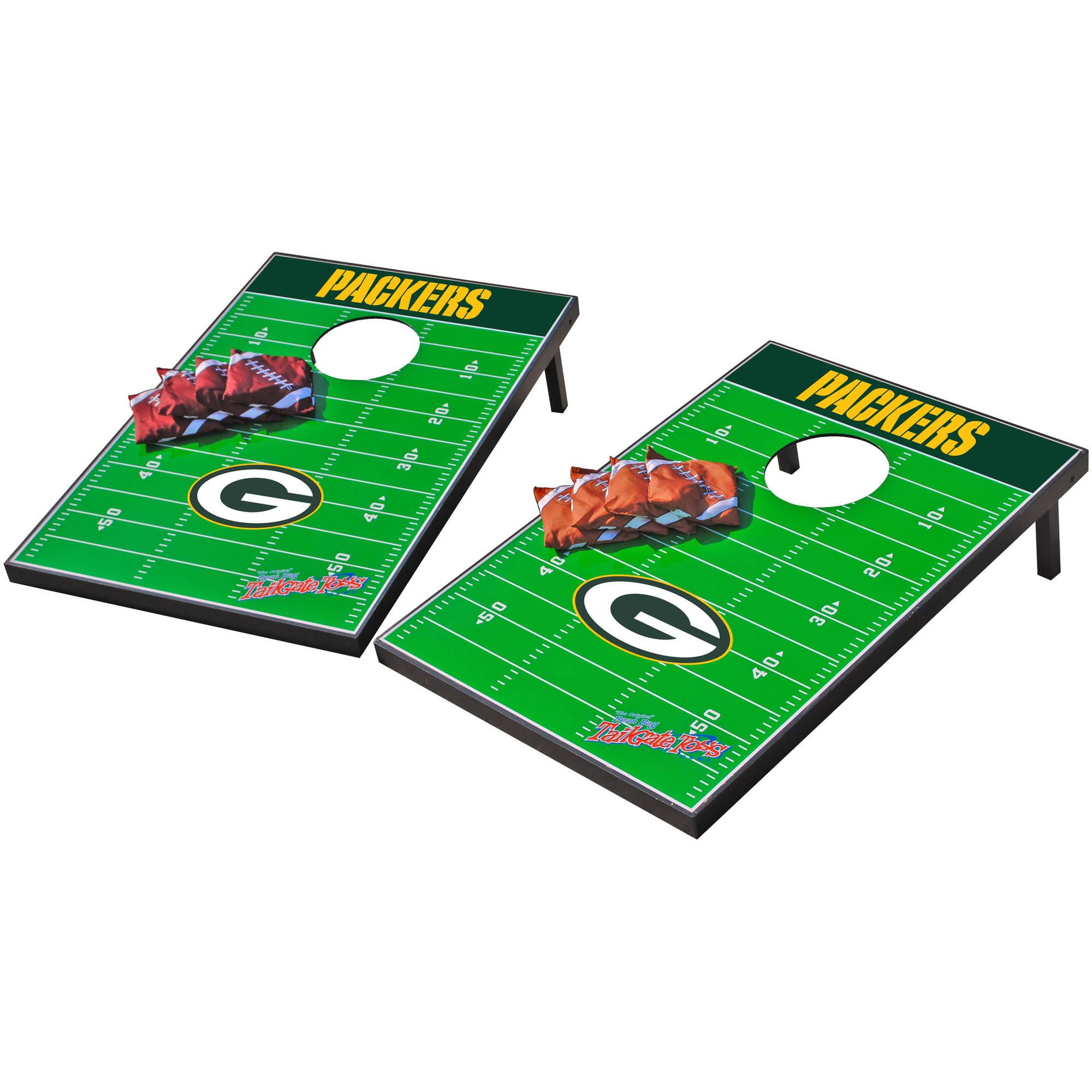 Wild Sports NFL Green Bay Packers 2x3 Field Tailgate Toss