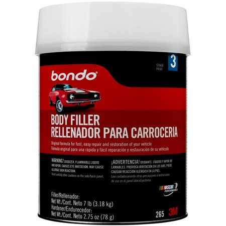 Bondo Body Filler, 00265, 1 Gallon