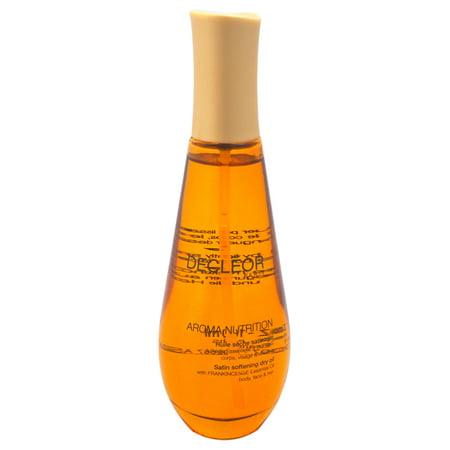 Decleor Aroma Nutrition Satin Softening Dry Body Oil, 3.3 Oz Satin Body Oil