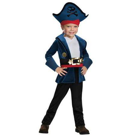 Morris Costumes DG86382L Capt Jake Classic Costume, Size 4-6 - Jake Miller Halloween