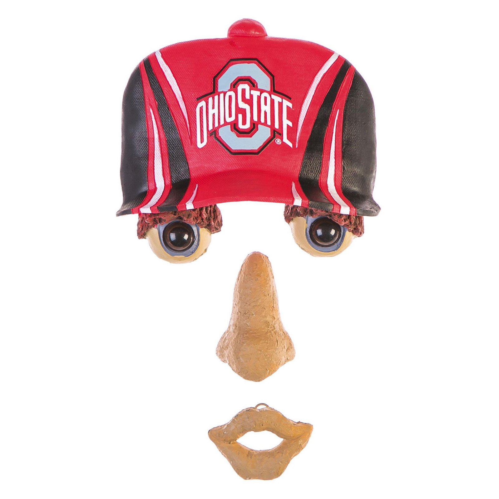 Team Sports America NCAA Forest Face Garden Decor