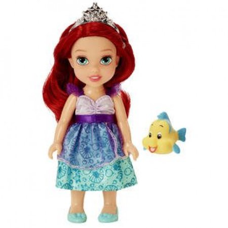 Disney Princess Petite Ariel and Flounder](Hawaiian Disney Princess)