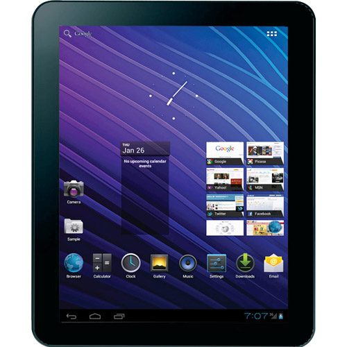 "MarquisPad 9.7"" Touchscreen 8GB Android 4.0 Tablet with WiFi, Bluetooth & Camera"