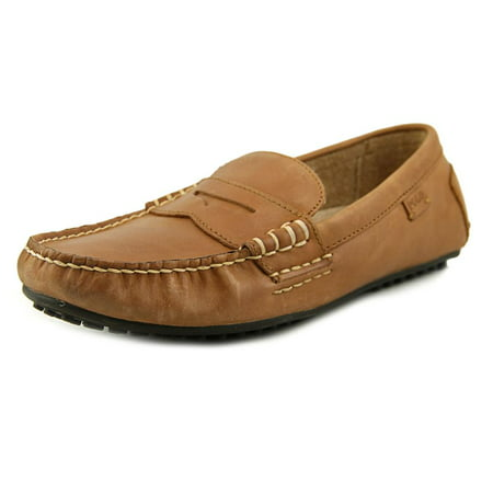 Polo Ralph Lauren Wes Men  Round Toe Leather Brown (Polo Mens Leather)