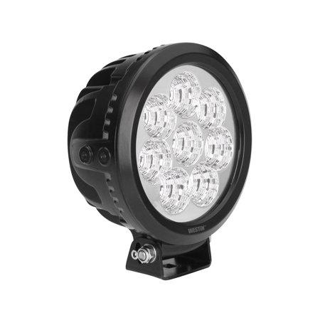 Westin Ultra LED Auxiliary Light 6.5 inch Flood w/10W Cree - Black