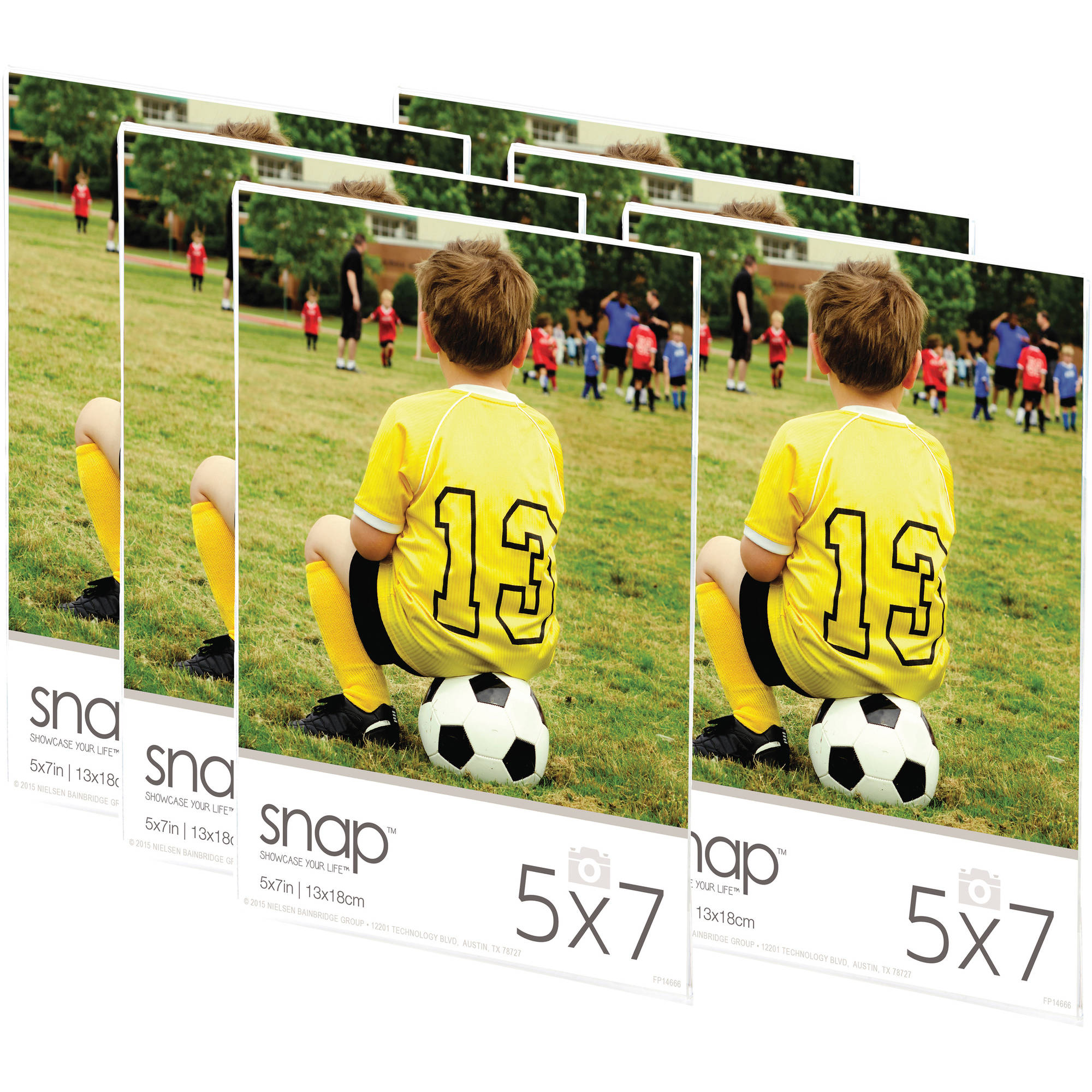 Snap 5x7 Magnetic Acrylic Frame, Set of 6