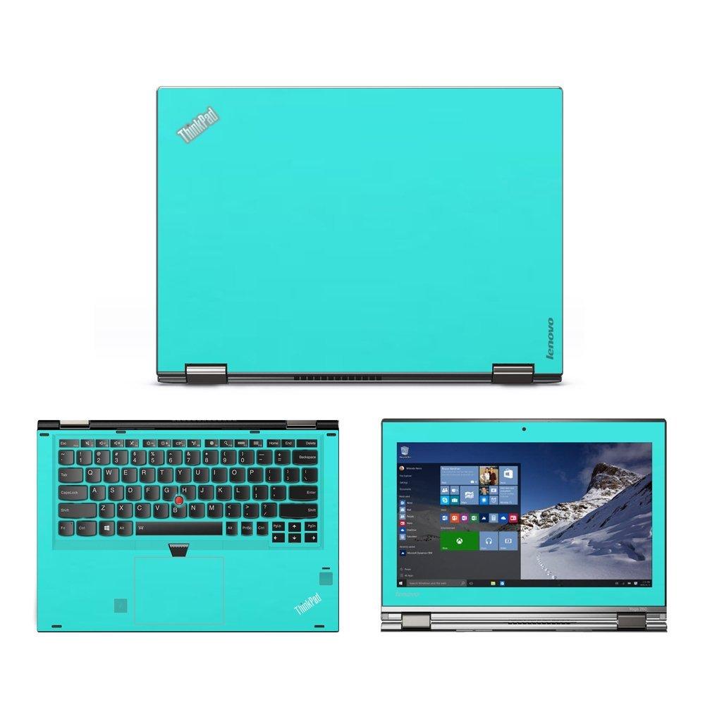 Mint Green skin decal wrap skin Case for Lenovo Yoga 260 ...