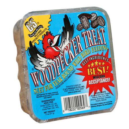 (6 Pack) C&S Suet Woodpecker Treat Suet