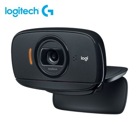 Logitech C525 Webcam Foldable HD 720P 30fps Video Calling Clip-on Computer Camera Remote Teaching Cam With Autofocus Noise-reducing Mic For Laptop Monitors
