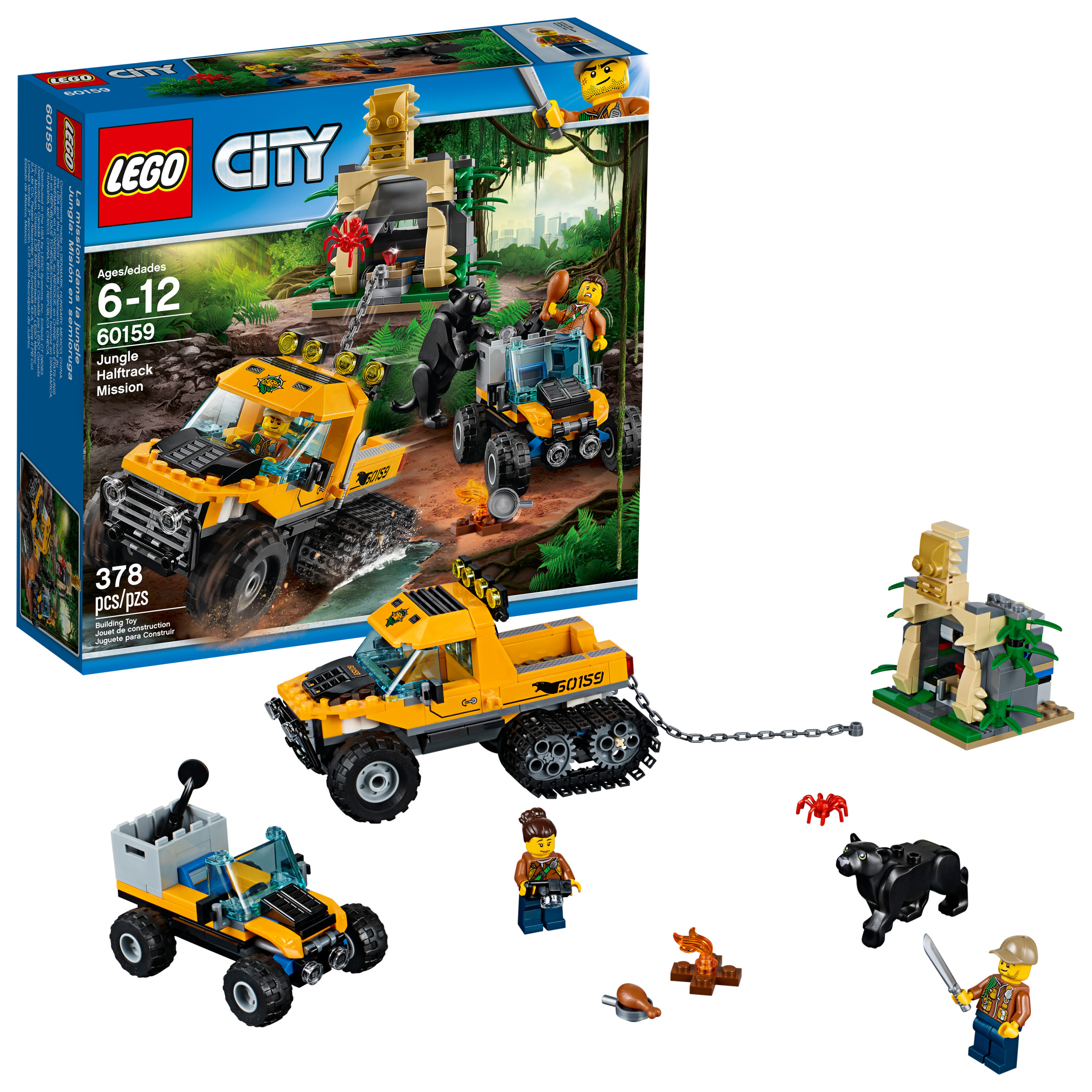 LEGO® City Jungle Explorers Jungle Halftrack Mission 60159