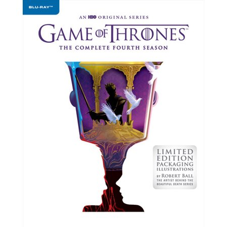 Game Of Thrones: Season 4 (Limited Edition Blu-ray + Digital Copy) (Game Of Thrones Season 3 Blu Ray)