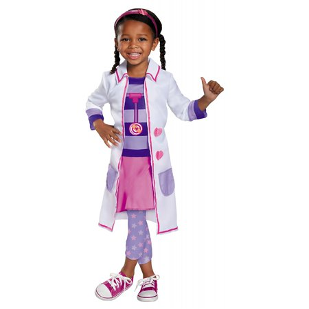 Doc McStuffins Toy Hospital Classic Toddler Costume - Toddler Small