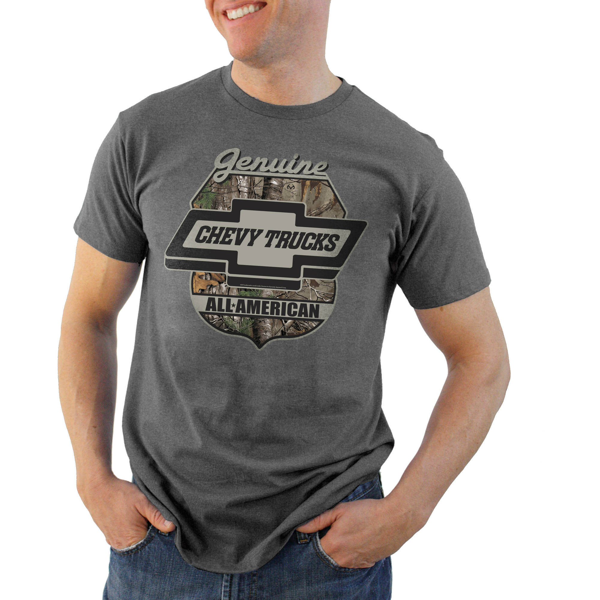 Realtree Big Men's Chevy Truck Graphic Tee