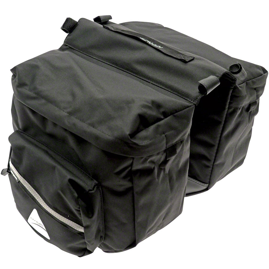 Axiom Appalachian 20 Rear Pannier Set: Black