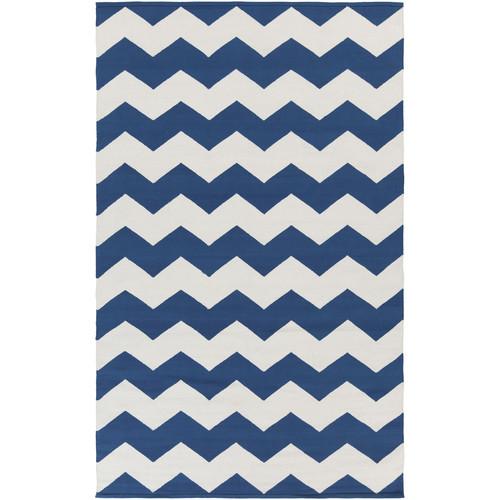 Artistic Weavers Vogue Navy Chevron Collins Area Rug