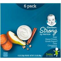 Baby Food: Gerber Strong