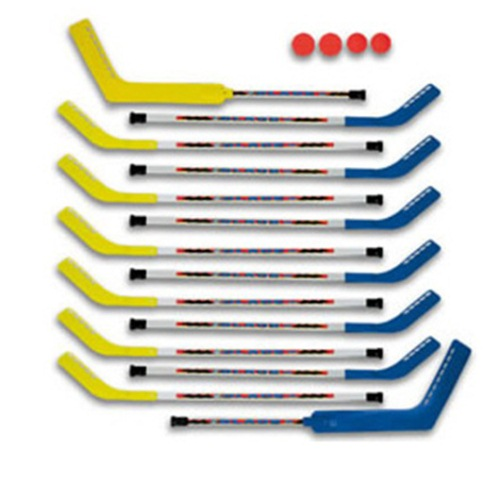 Hockey Stick Replacement Blades Set by Gamecraft - Blue/Yellow
