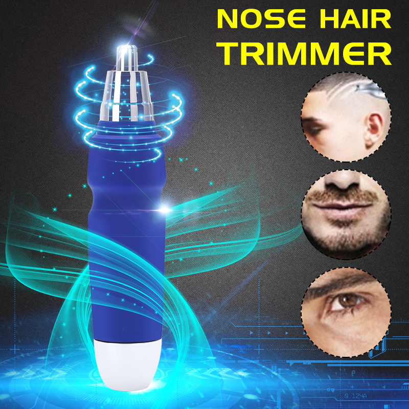 2019 Wet & Dry Unisex Electric Nose Ear Face Nose Hair Face Body Eyebrow Mustache Hair Removal Trimmer Shaver Razo r Clipper Cleaner Care Waterproof For Men Women