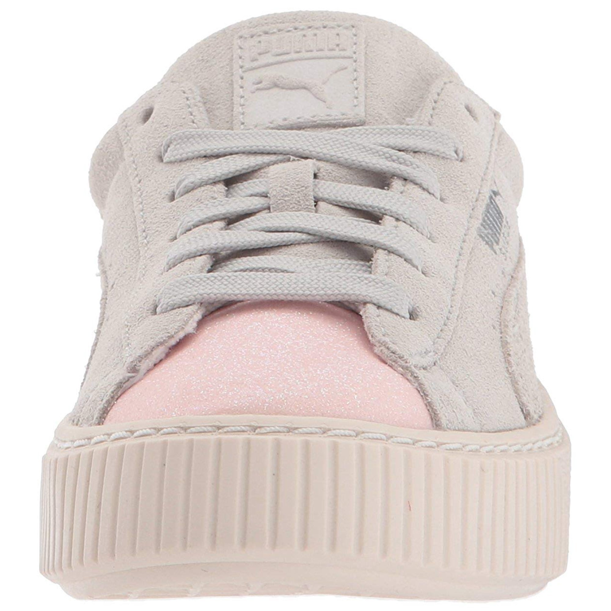 df122c39f66e Kids Puma Girls Kids  Suede Platform Glam Sneaker