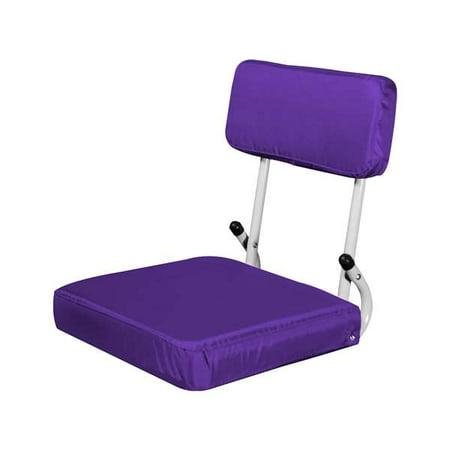 Plain Purple Hard Back SS (Plain Solo Seat)