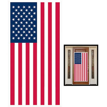 American Flag Door Cover Happy Easter Door Cover