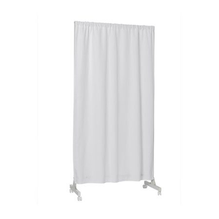 Don't Look At Me - Partial Room Divider - White Frame with White - Cardboard Room Divider