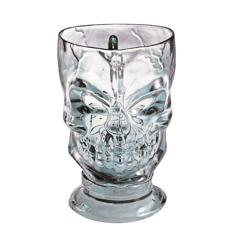 Fun Express - Skull Pitcher for Halloween - Home Decor - Decorative Accessories - Home Accents - Halloween - 1 - Halloween Express Store Hours