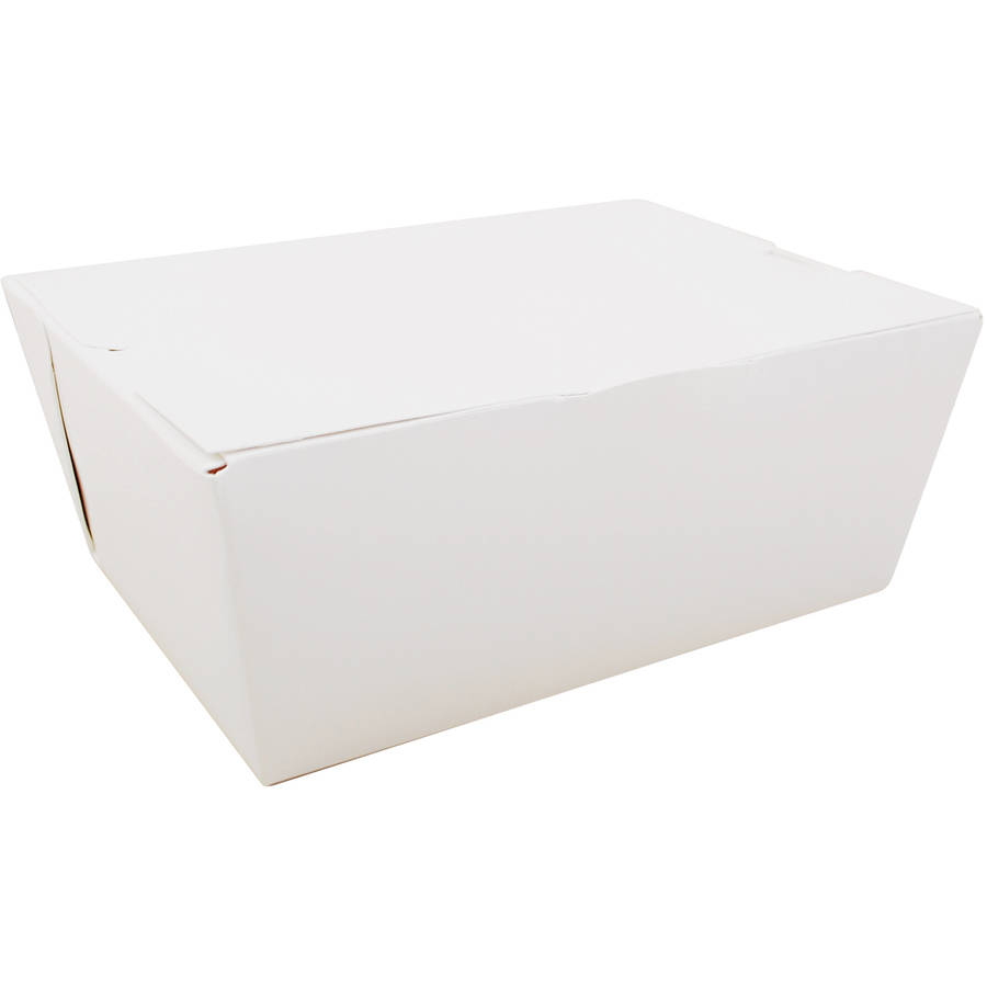 SCT ChampPak Carryout Boxes, White, 160 count